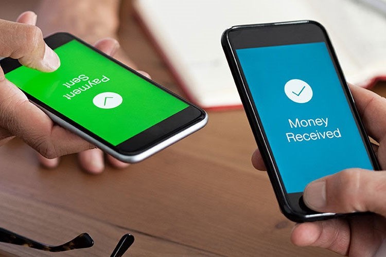 Payment sent, money received, P2P phones. Person-to-person payments make payments safe and simple.
